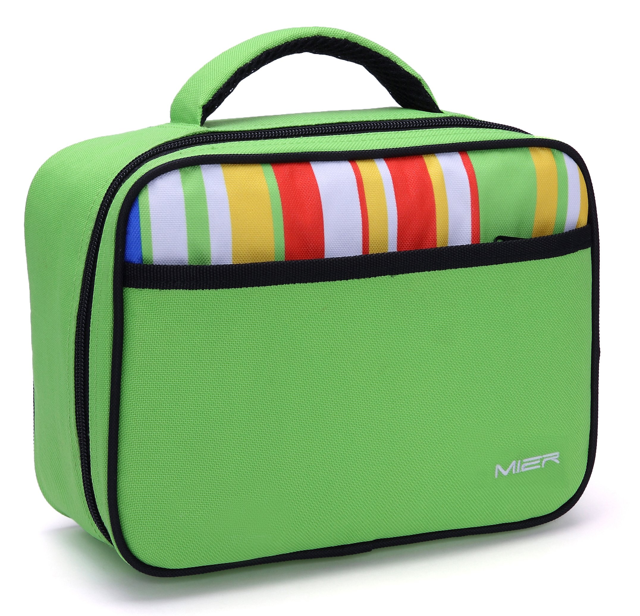MIER Kids Lunch Box, Fit in Backpack, Green
