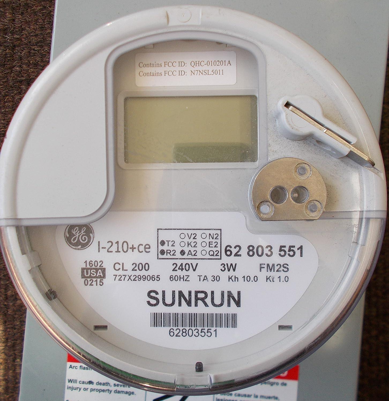 GE Smart Meter I-210+ce SUNRUN: Amazon com: Industrial