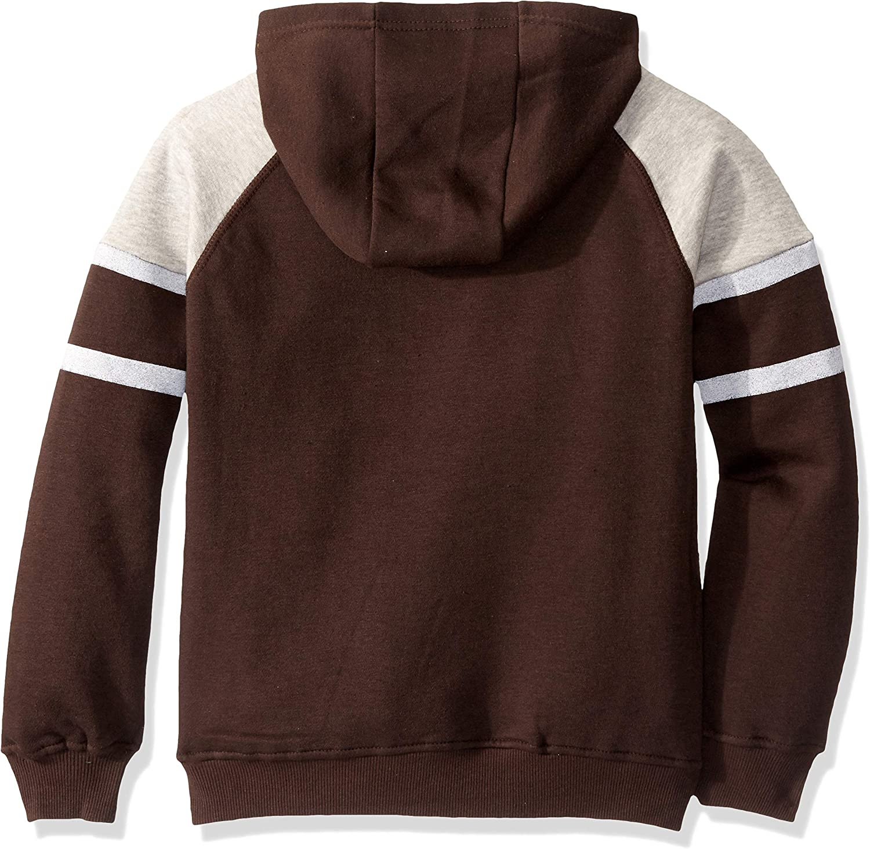 Outerstuff NFL Boys Youth 8-20 Team Color Primary Logo Linebacker Raglan Pullover Fleece Hoodie Sweatshirt