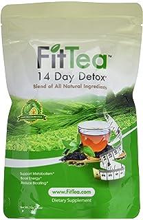 e79c75fb3d0 Amazon.com : FIT TEA 14 STICKS PER BOX - Detox tea, All naturall ...