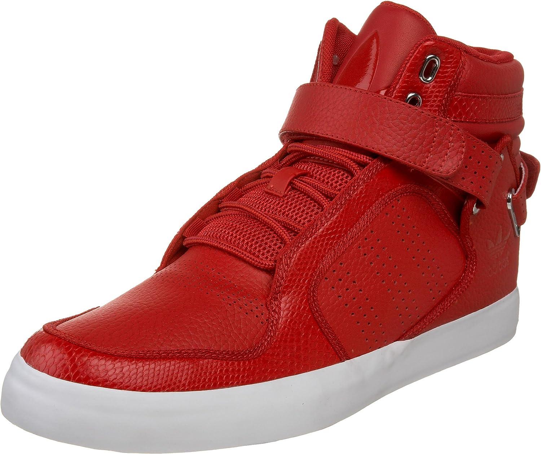 Agotamiento oferta Vigilante  Amazon.com | adidas Originals Men's adi-Rise Mid Sneaker,  Scarlet/Scarlet/White, 4 M | Fashion Sneakers