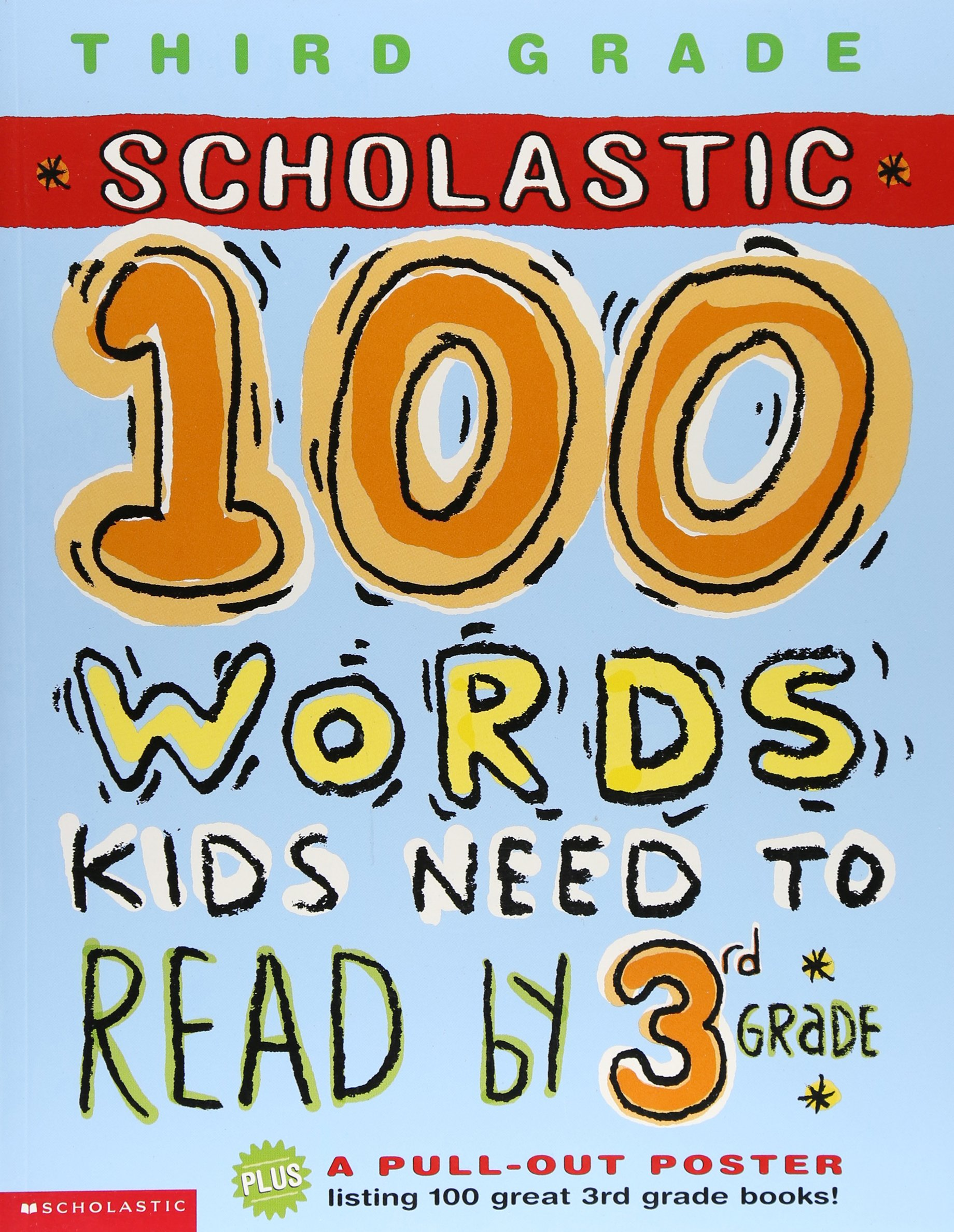 Amazon.com: 100 Words Kids Need to Read by 3rd Grade (100 Words Math  Workbook) (9780439306188): Anne Schreiber: Books