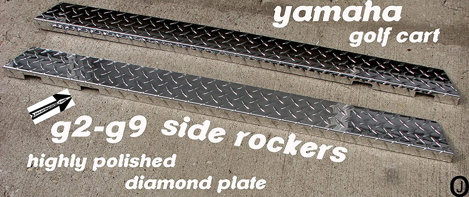 Body Yamaha G2 and G9 Full Side Rocker Panels Replacement Parts