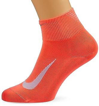 Nike U Nk ELT LTWT Qt Calcetines, Hombre, Naranja (Hot Punch/Still