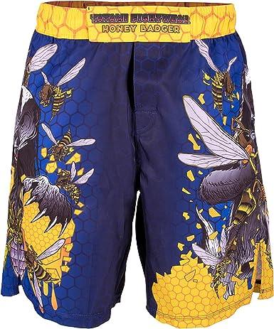 Tatami Fightwear Mens Honey Badger V5 Shorts MMA Blue