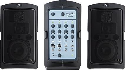 amazon com fender passport 150 pro portable pa system with mixer rh amazon com Fender Passport PA System Fender Passport PA System
