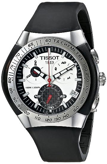 Tissot T-Tracx T0104171703100 - Reloj de caballero automático, correa de acero inoxidable color