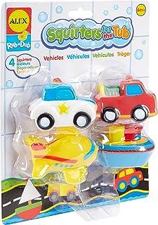 Alex Rub a Dub Transportation Squirters for the Tub bath toy 700TN