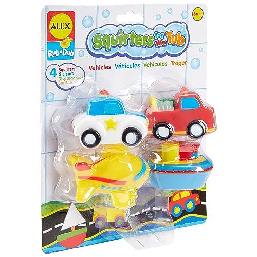 Alex rub a dub racing around tub island bath toy amazon for Alex co amazon