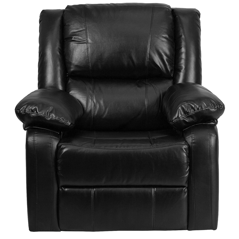 Amazon.com: Flash Furniture Harmony Series Black Leather Recliner: Kitchen  U0026 Dining