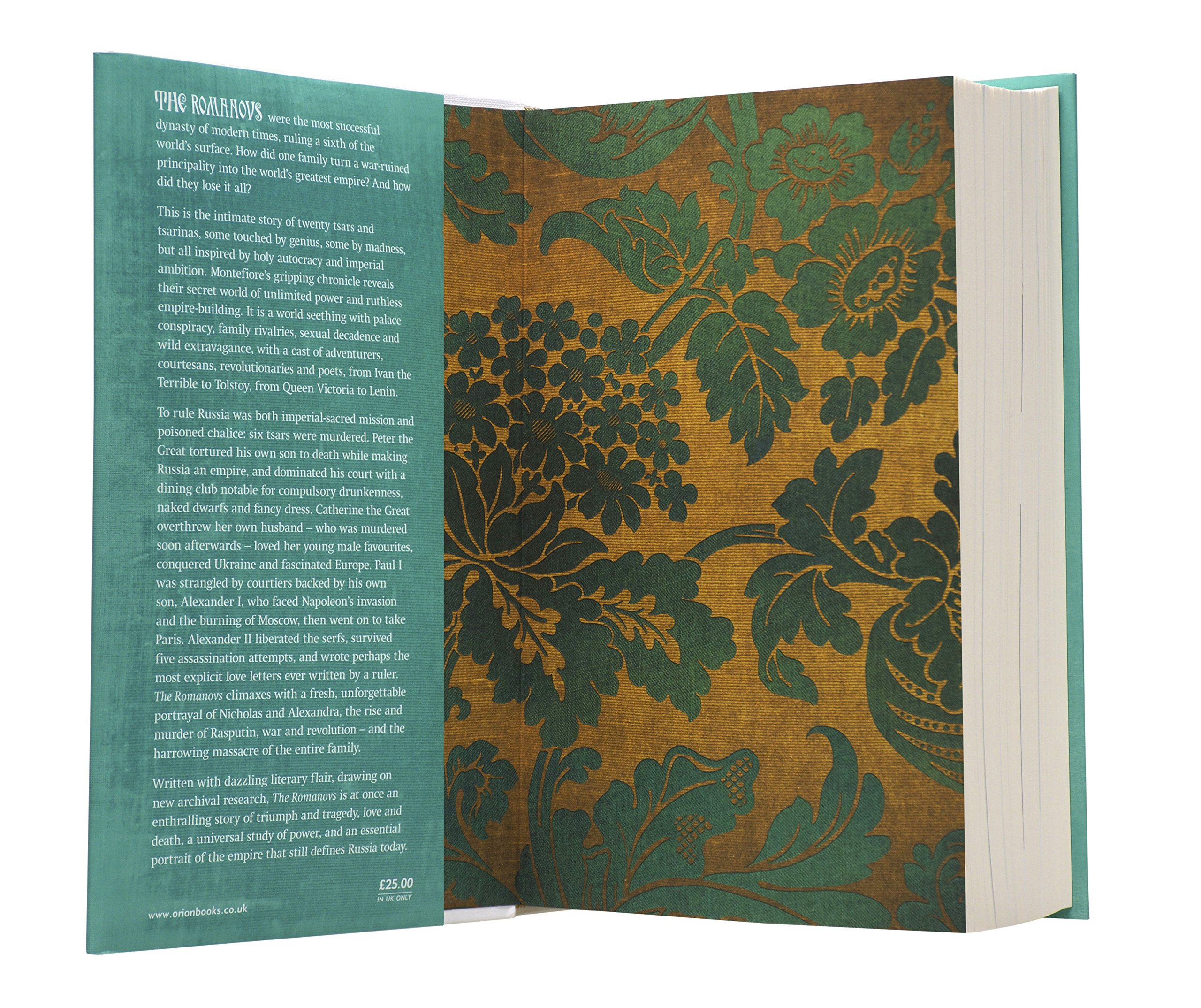 The Romanovs: 16131918: Amazon: Simon Sebag Montefiore:  9780297852667: Books