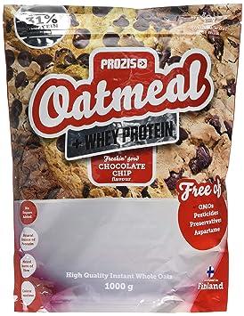 Prozis Oatmeal, Chocolate Chip - 1000 gr: Amazon.es: Salud y cuidado personal