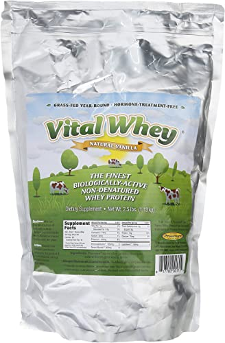 Vital Whey Natural Vanilla 2.5lb bag
