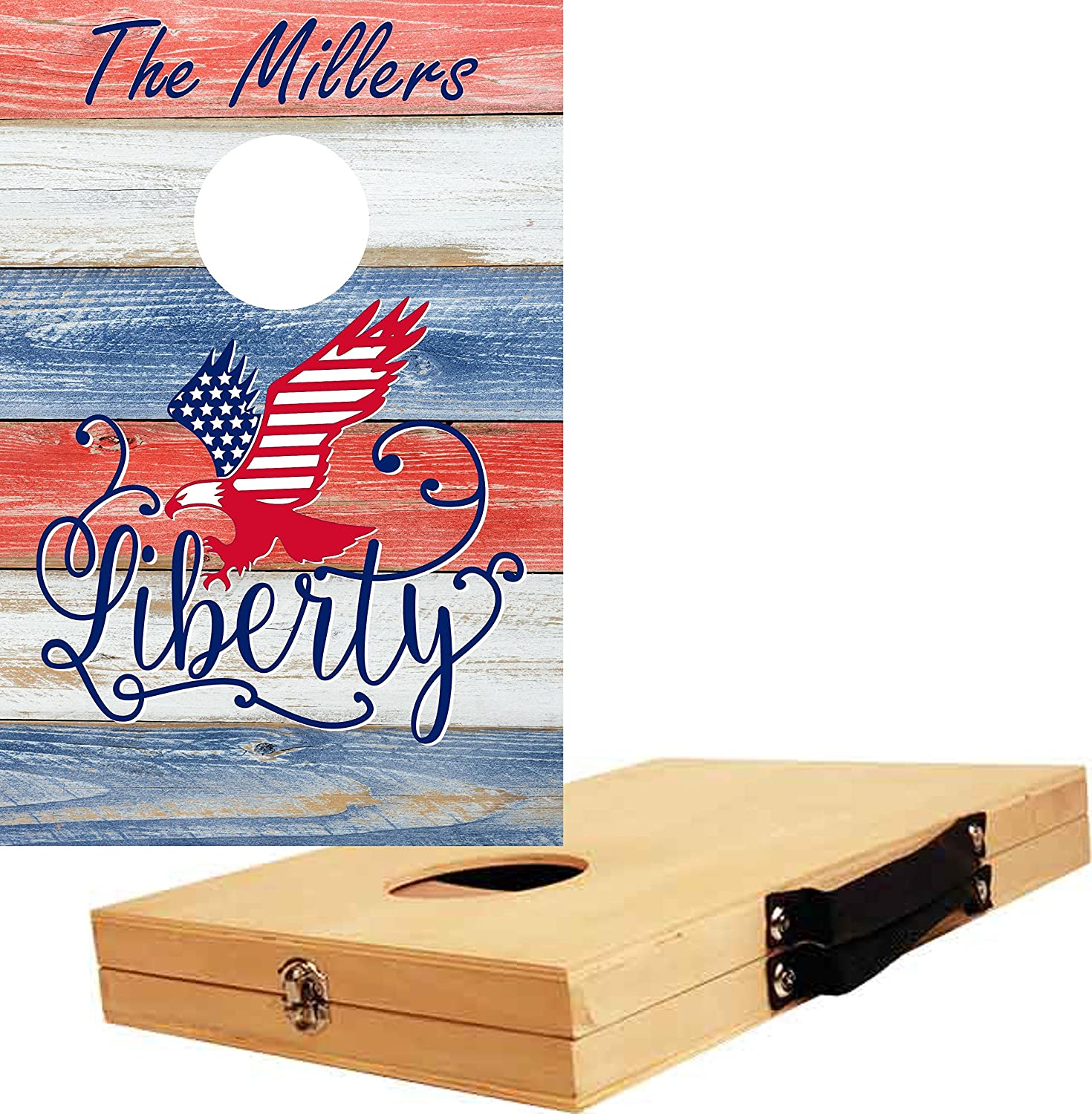 Be YouギフトPersonalizedカスタムCornhole Be Game – Liberty B07DFMV979 – B07DFMV979, 亘理郡:d5ba1b6a --- lembahbougenville.com