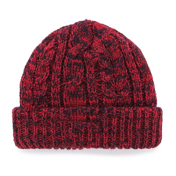 9076f699a7a4e9 Amazon.com : MLS Chicago Fire Women's '47 Prima Cuff Knit Beanie, Dark Red  : Sports & Outdoors