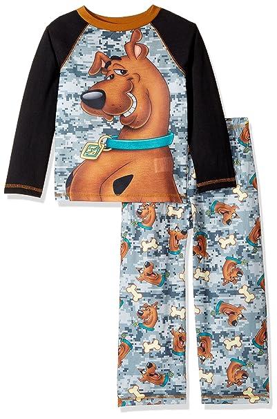 Amazon.com  Scooby Doo Boys Scooby 2 Piece Jersey Sleep Set  Clothing ccf74303b