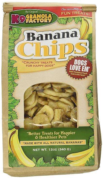 36d41ad6b68 Amazon.com   K9 Granola Factory Banana Chips Dog Treats   Pet Supplies