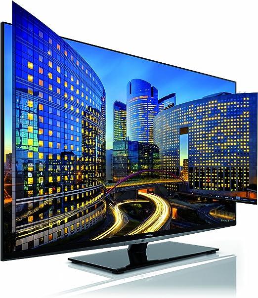 Toshiba LED Smart TV Con Diseño Novedoso sin marco y ultra Slim 3D Pasivocon Regalo de 4 Gafas 55WL968: Amazon.es: Electrónica