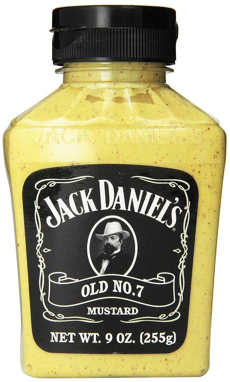 amazon com jack daniels old no 7 mustard 9 ounce bottles pack