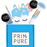 Prim and Pure Mineral Gift Set with Unicorn Mirror  Perfect for Play Dates & Birthday Parties   Kids Eyeshadow Makeup…