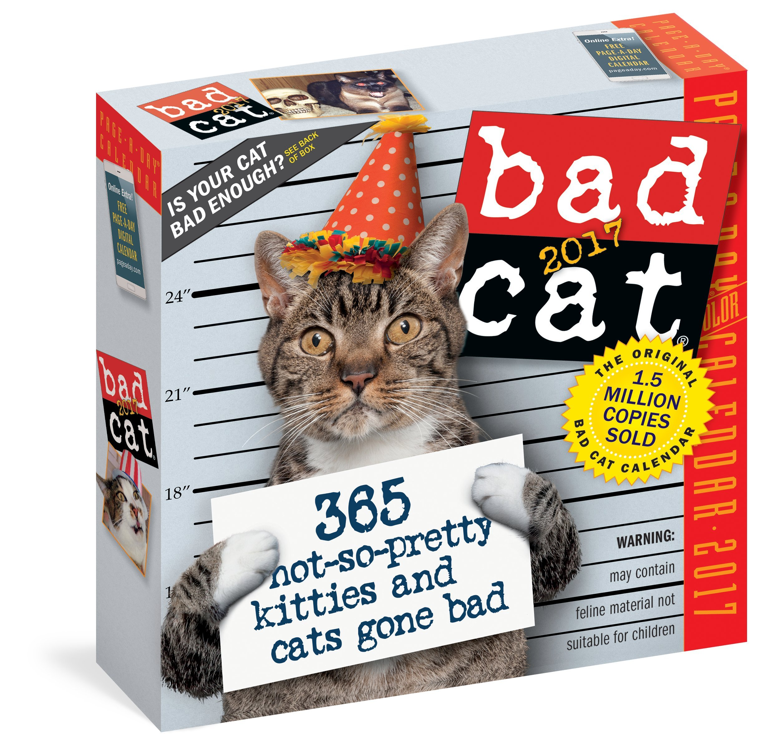 Read Online Bad Cat Page-A-Day Calendar 2017 pdf