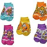 Nickelodeon Little Girls' Bubble Guppies Girls 5 Pack Socks