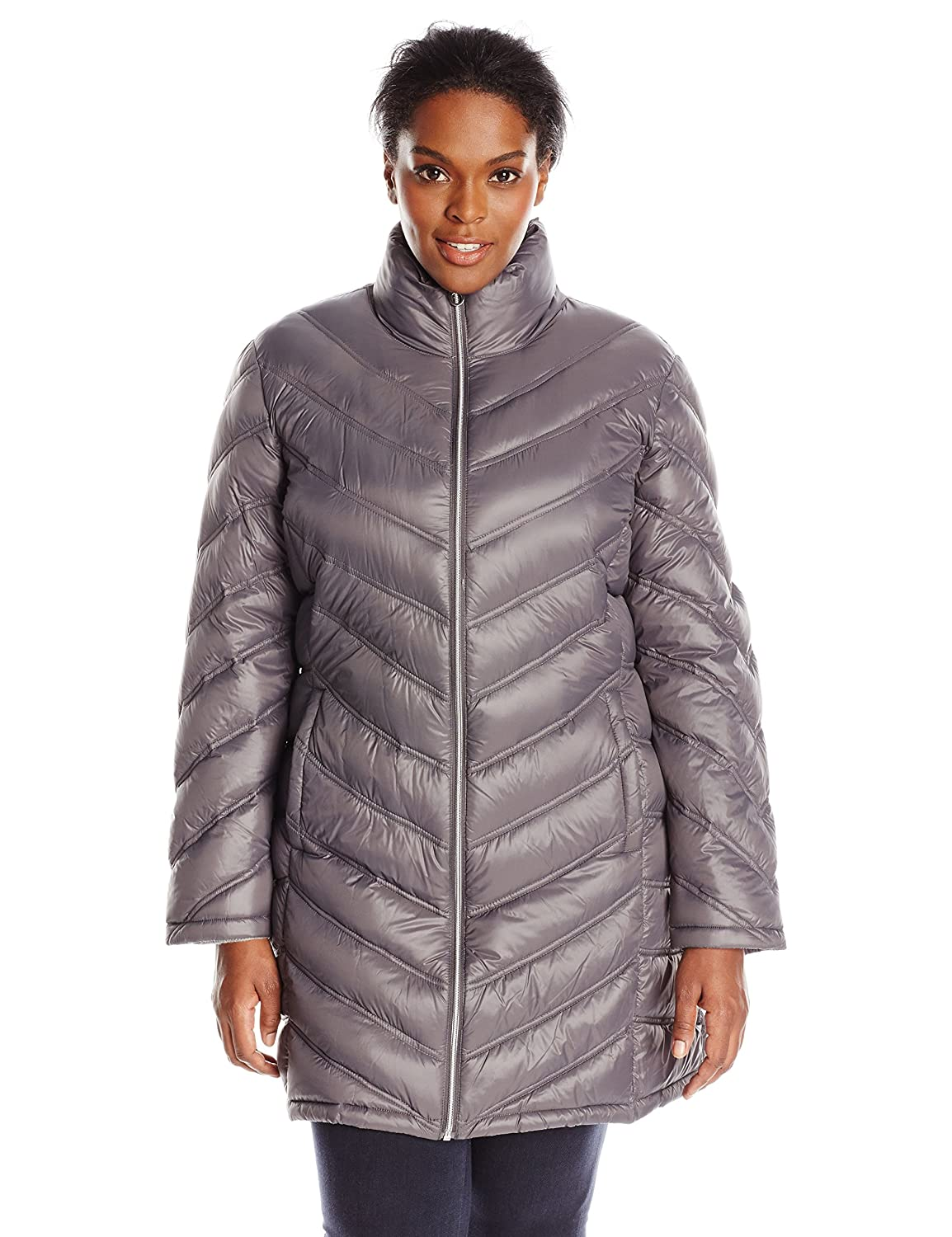 Women's plus size down coats