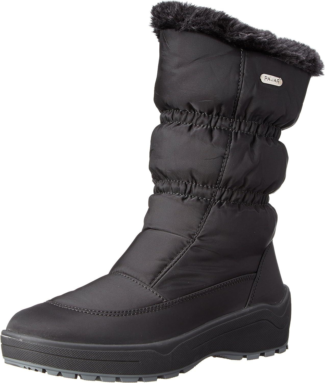 PAJAR Women's Snowcap 2-W, Black, 39 EU/8-8.5 M US