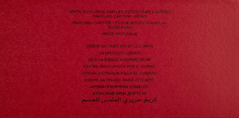 Cartier Must de Cartier Satin Crema de Cuerpo - 200 ml: Amazon.es: Belleza