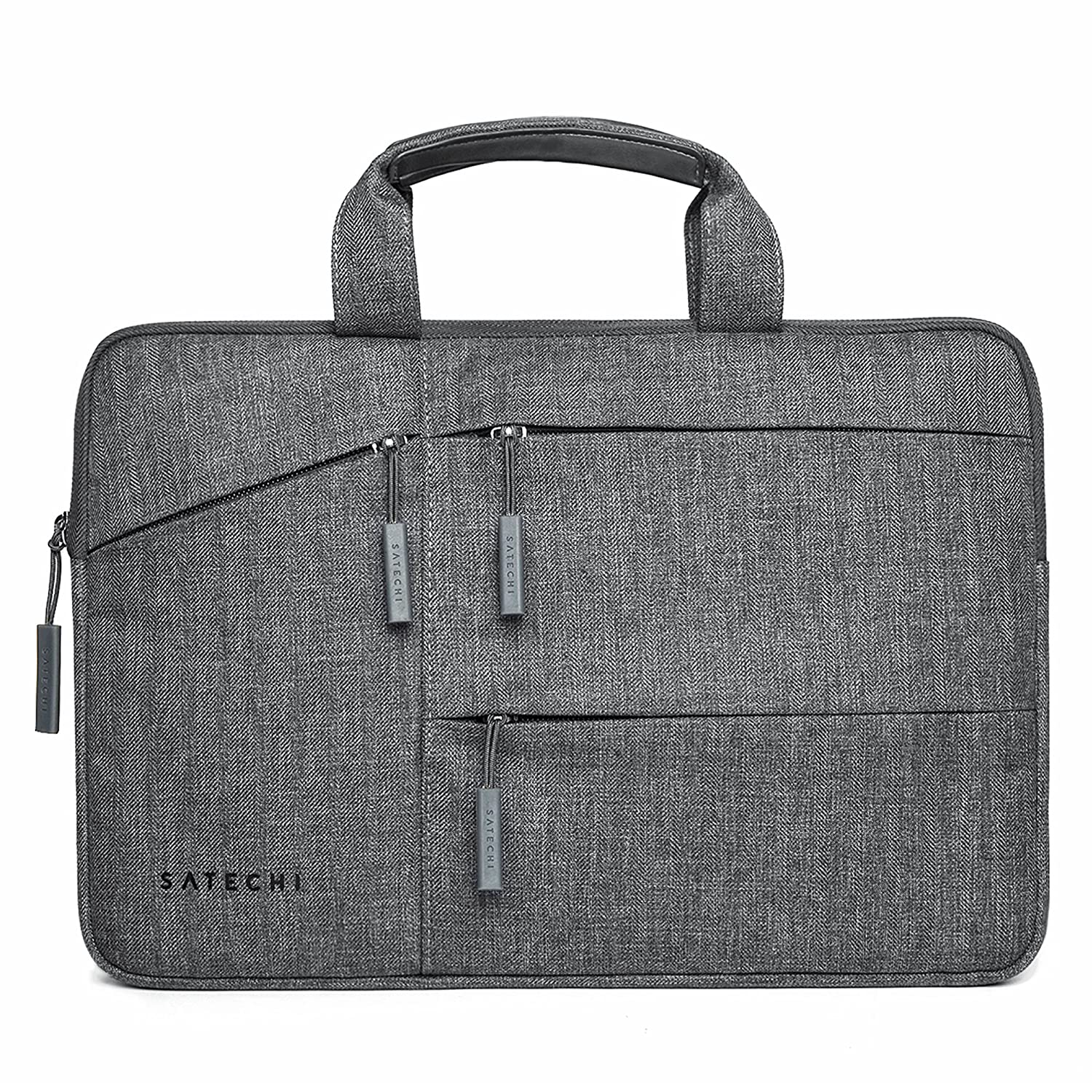 """Satechi Water-Resistant Laptop Bag Carrying Case with Pockets - Compatible with MacBook Pro 15"""", HP Spectre x360 15"""", Dell XPS 15"""" and More (15 Inch)"""