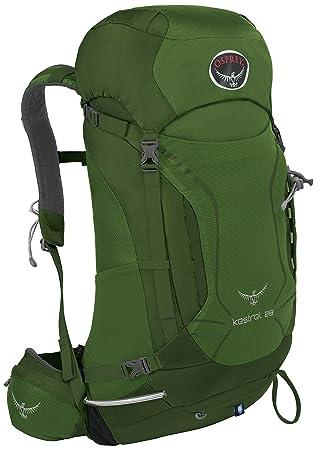 Osprey Kestrel 28 Mochila Nylon Verde - Mochila para portátiles y netbooks (Nylon, Verde, Monótono, Hombres, Cremallera, 300 mm): Amazon.es: Deportes y aire ...