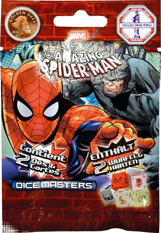 wizkids 272146 Cartas Marvel Dice Masters Spider Man Gravity ...