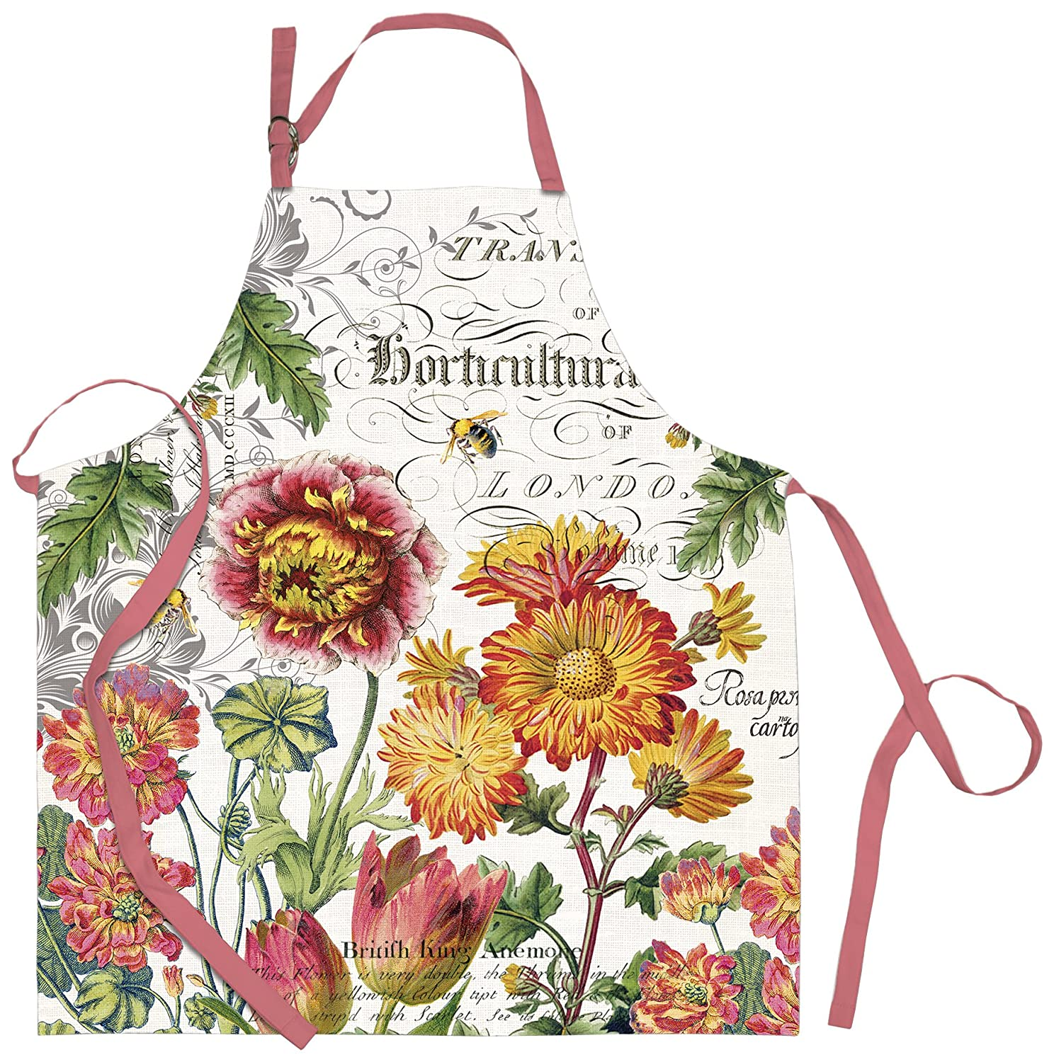 NEW Michel Design Works Cotton Kitchen Potholder Blooms and Bees