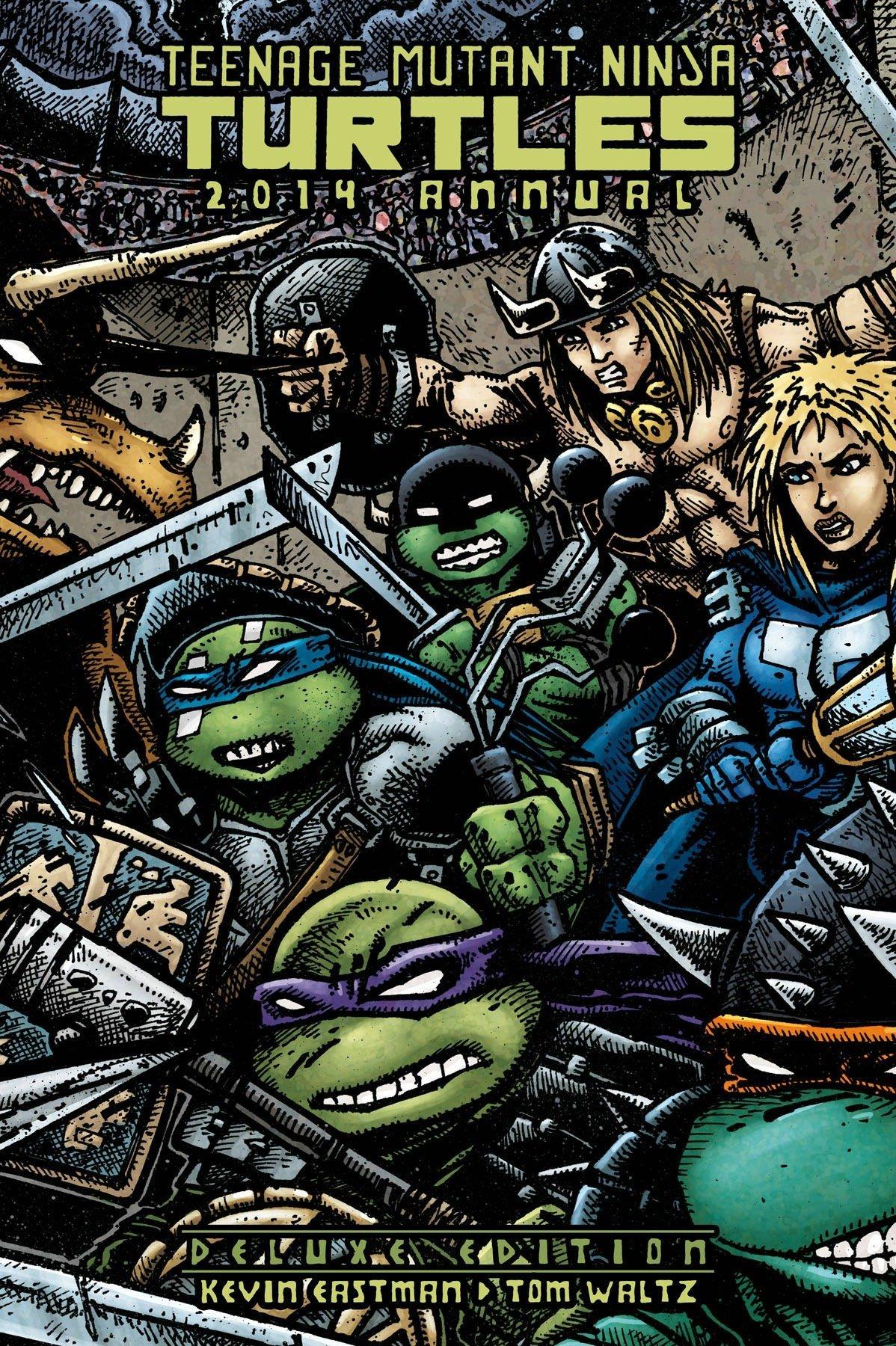 Teenage Mutant Ninja Turtles 2014 Annual Deluxe Edition ...
