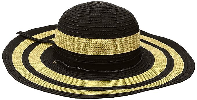 b2156fbf San Diego Hat Company Women's 4.5-inch Sun Brim Hat with Adjustable Cord,  Black