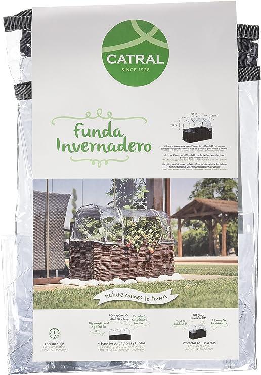 Catral 71080012 - funda invernadero para huerto kit planter 100 x ...