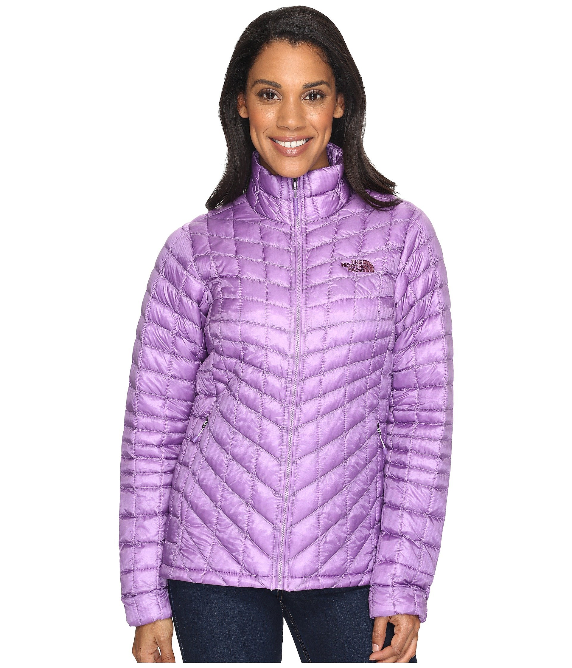 The North Face Women's ThermoBall¿ Full Zip Jacket Bellflower Purple (Prior Season) Outerwear