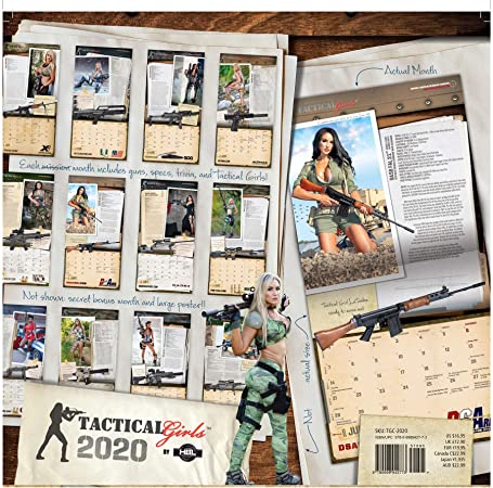 Playing Cards from 2016 Tactical Girls Calendar Airsoft Hunter Soldier USMC Gift