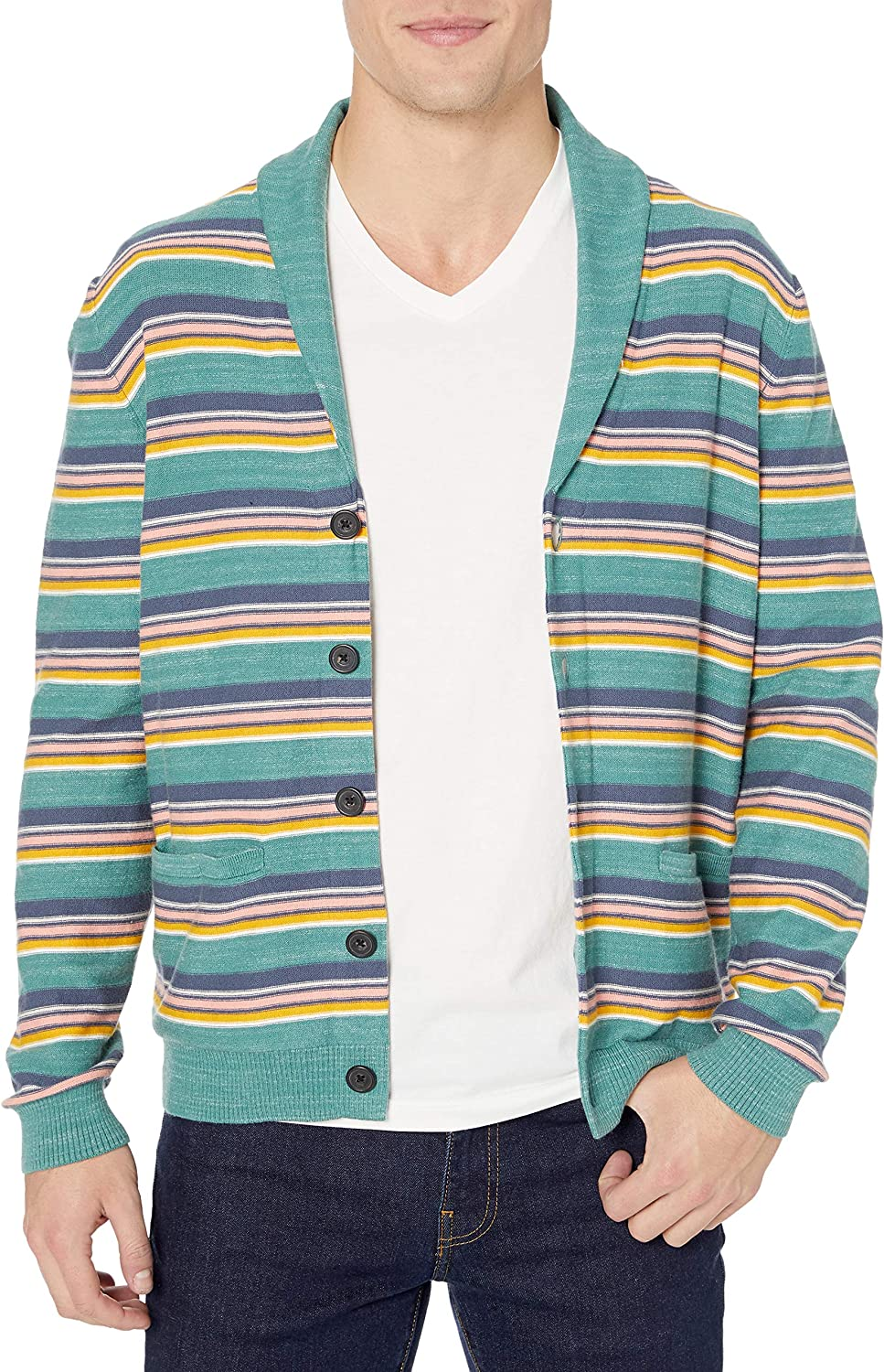 Soft Cotton Cardigan Summer Sweater cardigan-sweaters Uomo Marchio Goodthreads