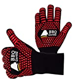 BBQ Gorilla - BBQ Gloves - Heat Resistant for Barbecue Grill Or Oven - for Cooking and Grilling - Silicon Design for…