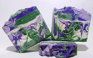 Jabón natural de salvia, especial para pieles delicadas, con alergias, eczemas u hongos: Amazon.es: Belleza