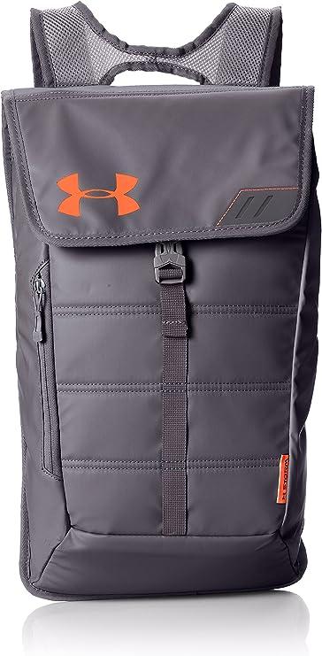 Under Armour Rucksack Ua Tech Pack Sackpack - Mochila, color gris graphite/blaze orange, talla 49 x 31 x 11 cm: Amazon.es: Deportes y aire libre
