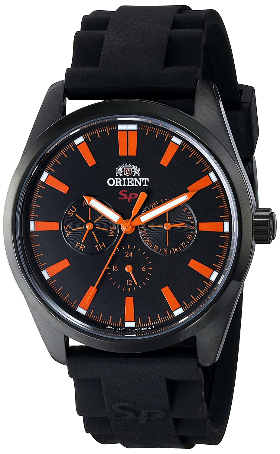 Amazon.com: Orient Mens FUX00002B0 SP Analog Display Japanese Quartz Black Watch: Watches