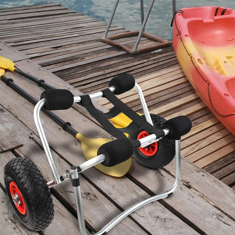 Jago - Carro para transportar kayaks y canoas: Amazon.es: Bricolaje y herramientas