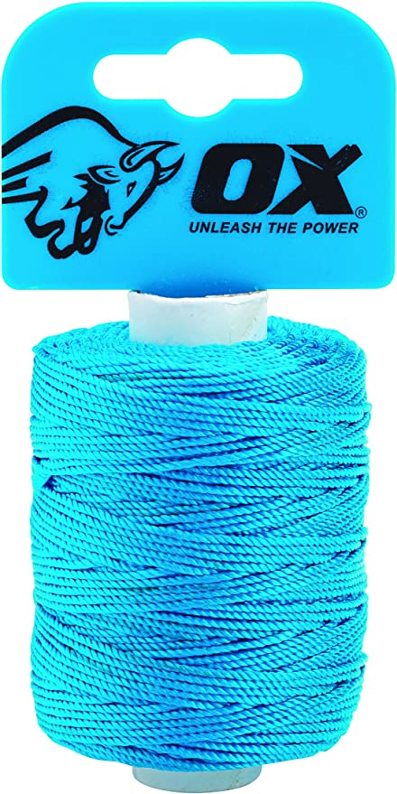 OX Tools 105m 350ft Tough Braided Nylon String//Brick LineOX-P104210