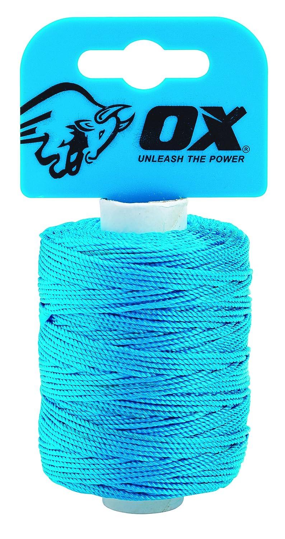 OX ox-p103510 Pro Nylon High Vis Builders Line, blau, 105 m/350 Ft OX Tools UK