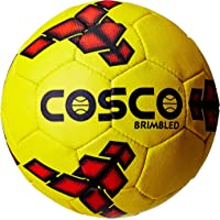 Cosco Brimbleds Football, Men's Size 5 (Yellow/Black)