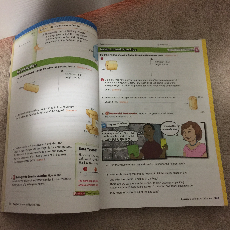 Glencoe Georgia Math Volume 2 Grade 8: Glencoe McGraw Hill