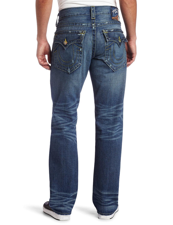 Amazon.com: True Religion Hombre Ricky Straight Jean clásico ...