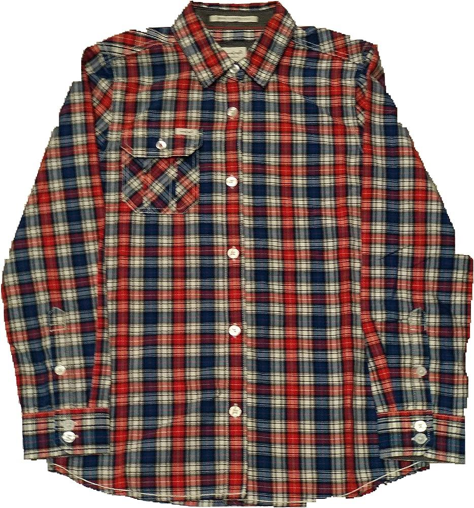 Pepe Jeans - Howard JR - Camisa Cuadros NIÑO: Amazon.es: Ropa y accesorios